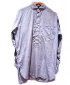 RRL(ダブルアールエル)の古着「プルオーバーシャツ」|ブルー