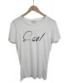 Dior Homme(ディオールオム)の古着「COOLプリントTシャツ」|ホワイト