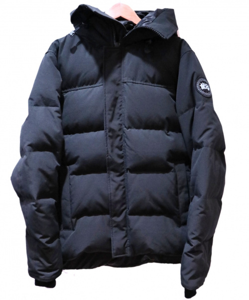 CANADA GOOSE(カナダグース)CANADA GOOSE (カナダグース) MACMILLIAN PARKA INLINE ブラック サイズ:Mの古着・服飾アイテム