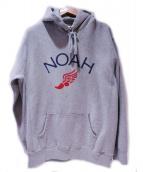 Noah(ノア)の古着「ロゴプルオーバーパーカー」|グレー