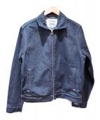 LEVIS MADE&CRAFTED(リーバイス メイドアンドクラフテッド)の古着「ZIPPED トラッカージャケット WALTER」|インディゴ