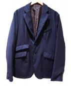 Engineered Garments(エンジニアードガーメン)の古着「ノッチドラペルドペイズリージャケット」|ネイビー