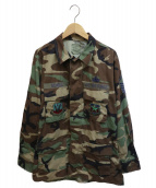 US ARMY(米軍)の古着「コンバットジャケット」|オリーブ