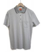 BOSS HUGO BOSS(ボスヒューゴボス)の古着「ポロシャツ」 グレー