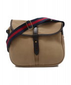 Brady(ブレディ)の古着「STOUR BAG」 ベージュ×ブラウン