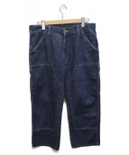 CarHartt(カーハート)の古着「ダブルニーペインターパンツ」 ブルー