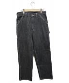 CarHartt(カーハート)の古着「ペインターパンツ」 ブラック