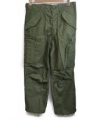 US ARMY(米軍)の古着「M-65フィールドパンツ」|グリーン