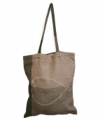 mina perhonen(ミナペルホネン)の古着「トートバッグ」 カーキ
