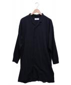 MARKA(マルカ)の古着「SHIRT KOAT」|ブラック