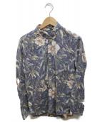 Ron Herman(ロンハーマン)の古着「総柄シャツ」|ネイビー