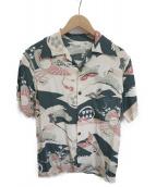 Sun Surf(サンサーフ)の古着「アロハシャツ」 グリーン