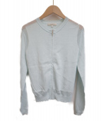 EPOCA(エポカ)の古着「ニットジャケット」 スカイブルー