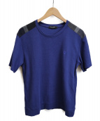 BLACK LABEL CRESTBRIDGE(ブラックレーベルクレストブリッジ)の古着「ワンポイントTシャツ」 ネイビー