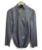 MIU MIU(ミュウミュウ)の古着「ラメセットアップ」|ベージュ