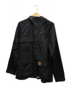 CarHartt(カーハート)の古着「TERRY JACKET」 ブラック
