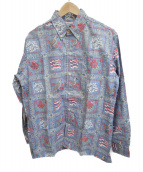 reyn spooner(レインスプーナー)の古着「総柄シャツ」|ブルー
