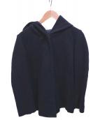 URBAN RESEARCH(アーバンリサーチ)の古着「ウールフードジャケット」|ネイビー