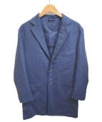 Mario Muscariello(マリオムスカリエッロ)の古着「チェスターコート」|ネイビー