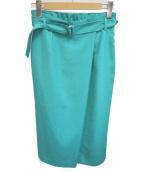 COUP DE CHANCE(クードシャンス)の古着「ロングスカート」|グリーン