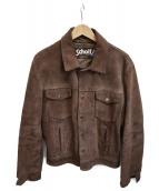 Schott(ショット)の古着「スウェードジャケット」|ブラウン