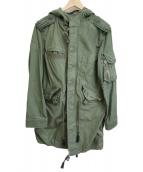GAP RED(ギャップレッド)の古着「ペイントライニングモッズコート」|オリーブ