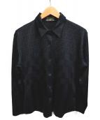 FENDI(フェンディ)の古着「ズッカ柄シャツ」|ブラック