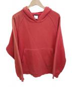 Patagonia(パタゴニア)の古着「CLASSIC COTTON SWEAT SHIRT」|レッド