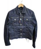 DSQUARED2(ディースクエアード)の古着「カットオフデニムジャケットデニムジャケット」|インディゴ