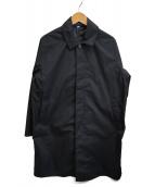 URBAN RESEARCH(アーバンリサーチ)の古着「ステンカラーコート」 ブラック