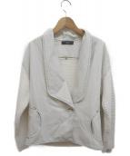 DIESEL(ディーゼル)の古着「ニット切替デニムジャケット」|ホワイト