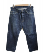 TENDERLOIN(テンダーロイン)の古着「ボタンフライデニムパンツ」|インディゴ