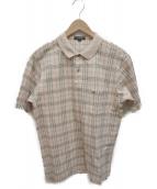 BURBERRY LONDON(バーバリーロンドン)の古着「ポロシャツ」|ベージュ