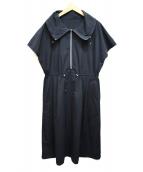 CARA O CRUZ(キャラオクルス)の古着「ジップワンピース」|ブラック