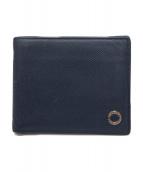 BVLGARI(ブルガリ)の古着「2つ折り財布」|ネイビー