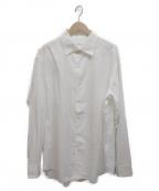 BRIONI(ブリオーニ)の古着「シルクコットンシャツ」 ホワイト