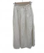 ASEEDONCLOUD(アシードンクラウド)の古着「ロングスカート」 アイボリー
