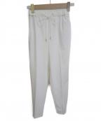 Viaggio Blu(ビアッジョブルー)の古着「イージーパンツ」 ホワイト