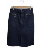 Kate Spade(ケイトスペード)の古着「デニムスカート」|ブルー