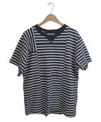 ()の古着「ボーダーTシャツ」 ネイビー×ホワイト