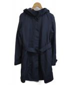 UNTITLED(アンタイトル)の古着「フーデッドコート」|ネイビー