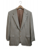 BRIONI(ブリオーニ)の古着「セットアップスーツ」|ブラウン