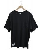 ()の古着「ポケットTシャツ」 ブラック