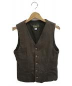 ORGUEIL(オルゲイユ)の古着「Old Surge Gilet」|グリーン