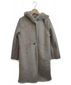 Demi-Luxe BEAMS(デミルクスビームス)の古着「エコムートンコート」|グレー