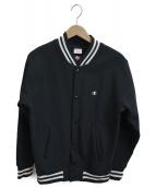 Champion(チャンピオン)の古着「MA-1ジャケット」|ブラック
