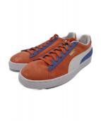 PUMA(プーマ)の古着「Suede Classic Kokono Shoe」|オレンジ×ブルー