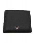 EMPORIO ARMANI(エンポリオアルマーニ)の古着「2つ折り財布」|ブラック