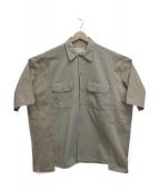 77circa(ナナナナサーカ)の古着「ワークシャツ」|ベージュ