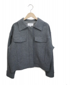 UNTITLED(アンタイトル)の古着「ウールジャケット」 グレー